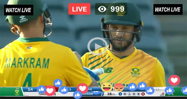 South Africa vs Pakistan 4th T20 PTV Sports Live